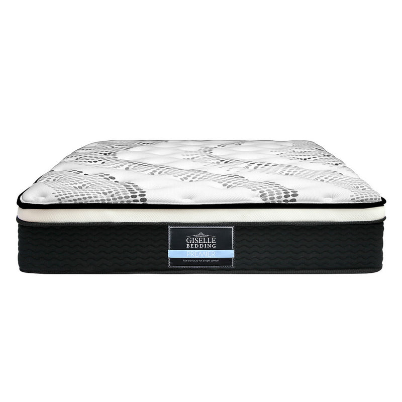 KING SINGLE Size - Euro Spring Foam Mattress