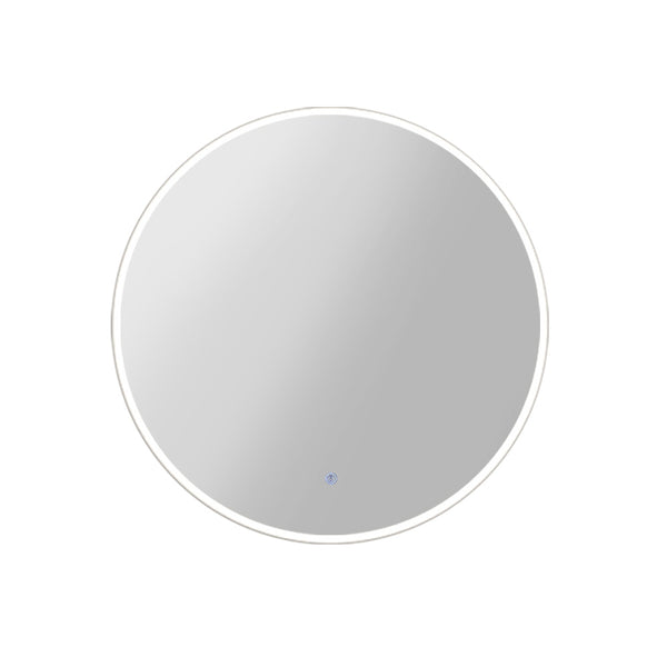 Embellir 70CM LED Wall Mirror With Light Bathroom Decor Round Mirrors Vintage