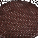 Outdoor Patio Chair and Table - Brown