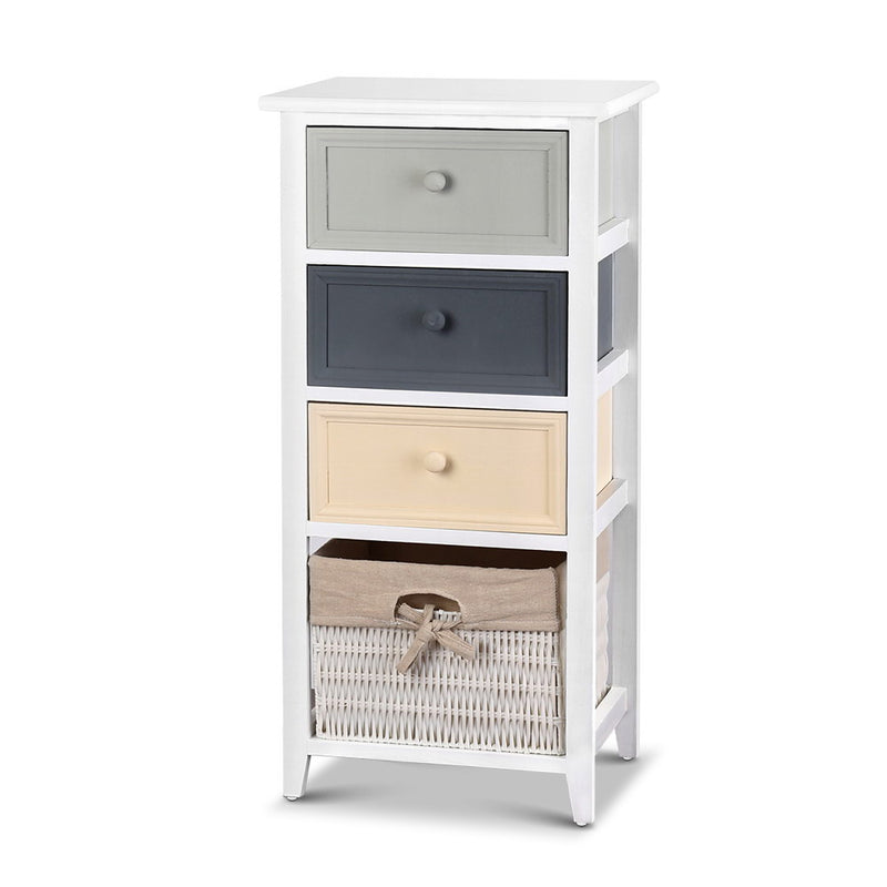 Artiss Bedroom Storage Cabinet - White