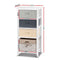 Bedroom Storage Cabinet - White