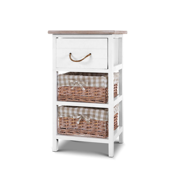Artiss Storage Cabinet Bedside Table Dresser Chest of Drawers Bedroom Hallway