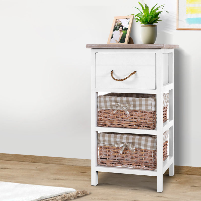 Storage Cabinet - Bedside Table Dresser - Chest of Drawers