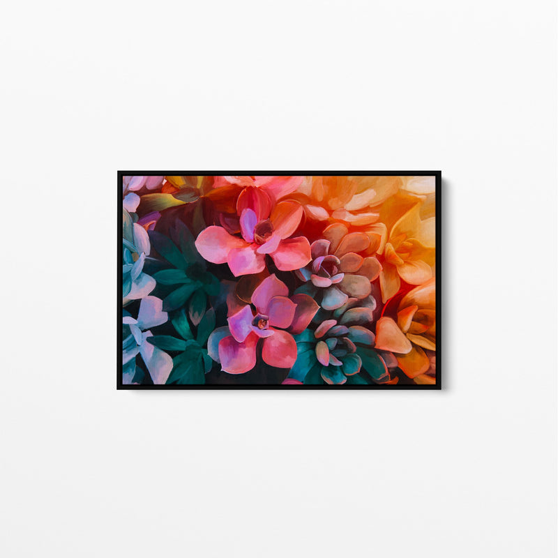 Succulents In The Sun - Stretched Canvas Wall Art