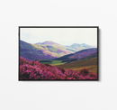 The Highlands - Highland Scotland Canvas Wall Art Print