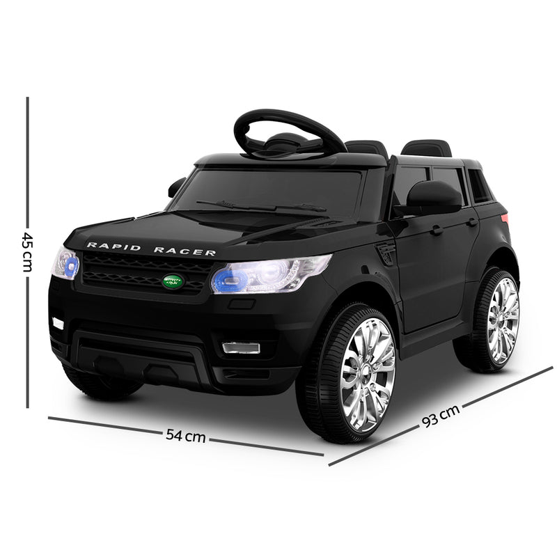 Kids Play Ride On Car - Black