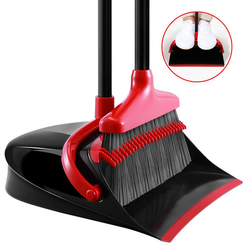 omemaxs Broom and Dustpan Set
