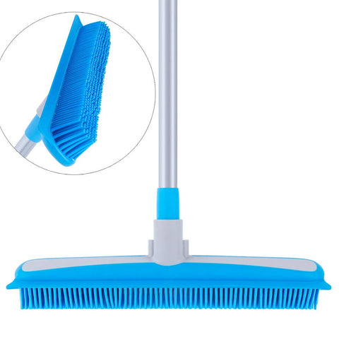SIGA Soft Bristle Rubber Broom and Squeegee