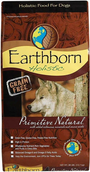 Earthborn Natural Dry Dog Food High Protein
