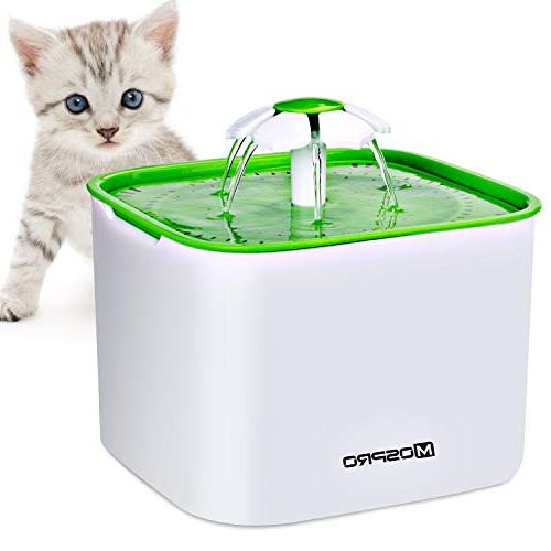 MOSPRO Flower Cat Water Fountain