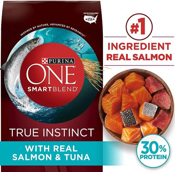 Purina One Smart Blend with Real Salmon and Tuna