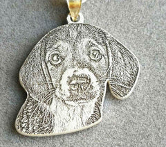 Personalized Dog Photo Necklace-Customized Pet/Dog/Cat Jewelry-Pet Necklace-Pet Memorial Jewelry