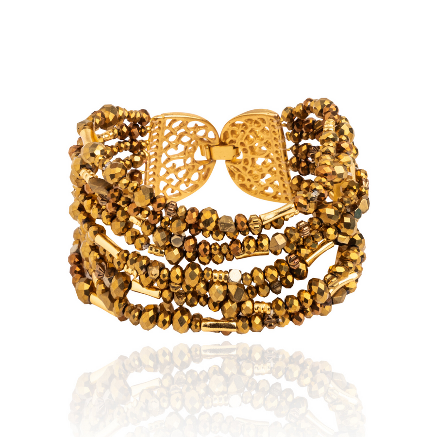 Mitu Multilayered Bracelet Gold
