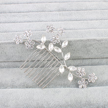 Load image into Gallery viewer, Rhinestone classic women hair combs - aidaroos.com