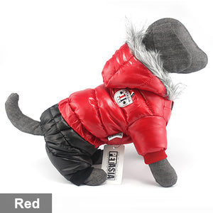 Winter Dog Waterproof Jacket Super Warm - aidaroos.com