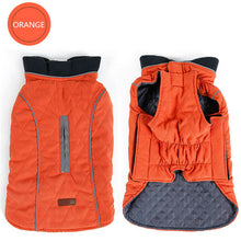 Load image into Gallery viewer, Quilted Winter Dog Coat Water Repellent - aidaroos.com