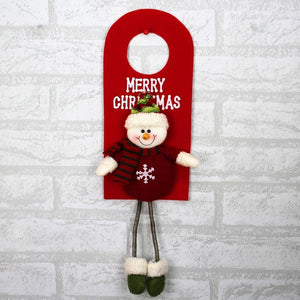 Smiry 1pc Christmas Ornaments Christmas Tree Santa Claus Pendants Drop Christmas Decorations - aidaroos.com