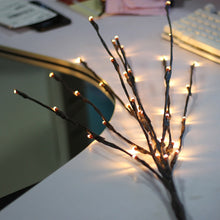 Load image into Gallery viewer, LED Willow Branch Lamp Floral Lights 20 Bulbs Home Christmas - aidaroos.com
