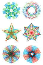 Load image into Gallery viewer, 22 pcs Spirograph Drawing toys set - aidaroos.com