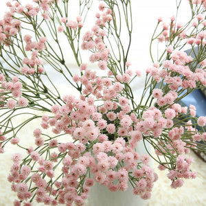 90 Heads Artificial  Flowers  False Baby's Breath Gypsophila - aidaroos.com