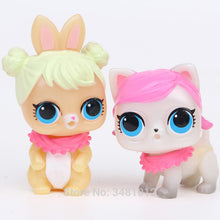 Load image into Gallery viewer, 6 pcs lol Pets Dolls - aidaroos.com