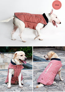 Quilted Winter Dog Coat Water Repellent - aidaroos.com