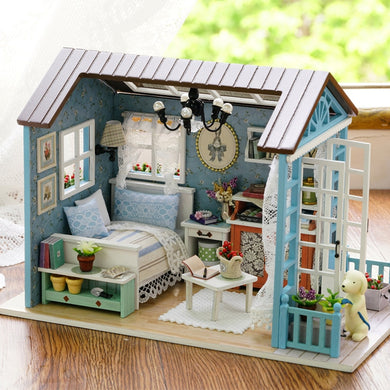 Dollhouse Model Wooden Toy - aidaroos.com