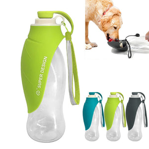 650ml Portable Pet Dog Water Bottle - aidaroos.com