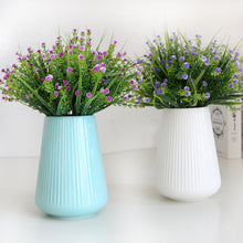 Load image into Gallery viewer, 42 heads Green Grass plants artificial flowers - aidaroos.com