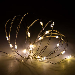 Copper Wire LED String  Indoor/Outdoor Christmas Lights - aidaroos.com