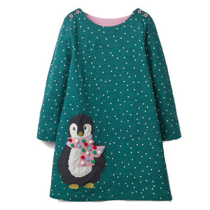 Girls Dress Long Sleeve - aidaroos.com