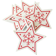 Load image into Gallery viewer, 10pcs 5CM New Year Natural Wood Christmas Ornaments - aidaroos.com
