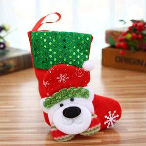 Christmas Socks Gift Bag Ornaments - aidaroos.com