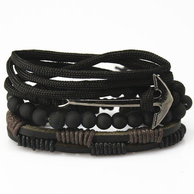 Bead Leather Bracelets & bangles - aidaroos.com