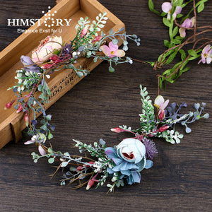 Handmade Bohemia Flower for Hair Wreath - aidaroos.com