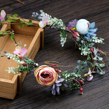 Load image into Gallery viewer, Handmade Bohemia Flower for Hair Wreath - aidaroos.com