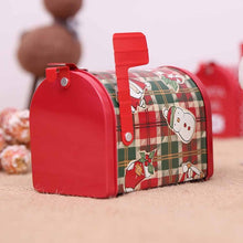 Load image into Gallery viewer, Mailbox Shape Christmas Candy Gift Tin Box - aidaroos.com