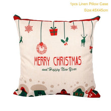 Load image into Gallery viewer, Christmas Pillow Case - aidaroos.com