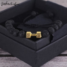 Load image into Gallery viewer, Fitness Dumbbell Barbell bracelet - aidaroos.com