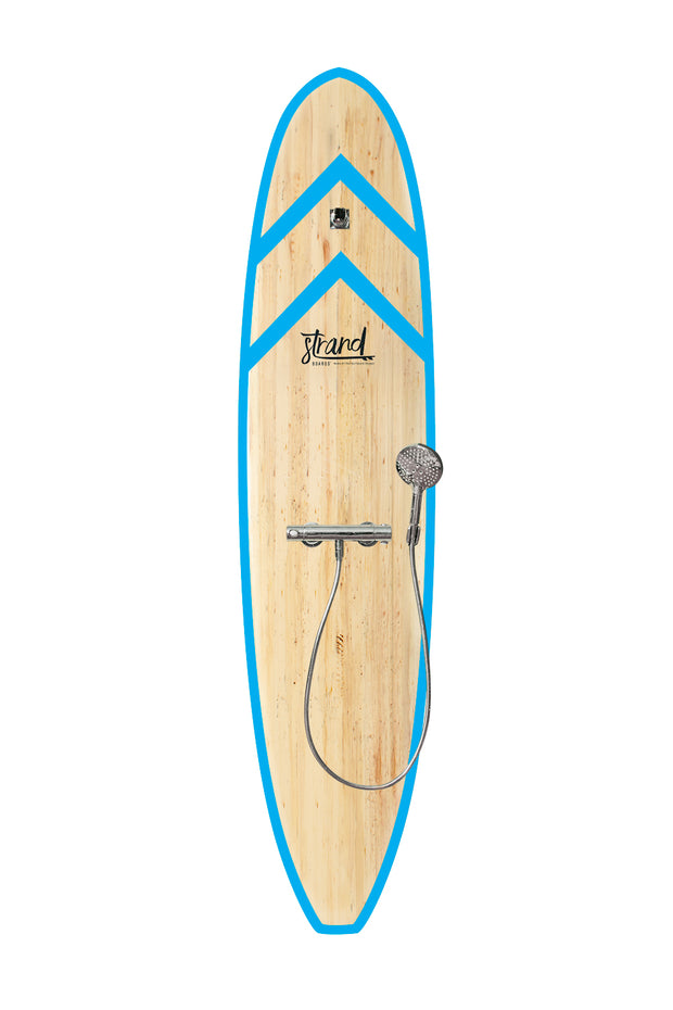 Strand Boards® | Strand Series | Fiji Surfboard Shower | Beach Component | Structure Mount | Aqua