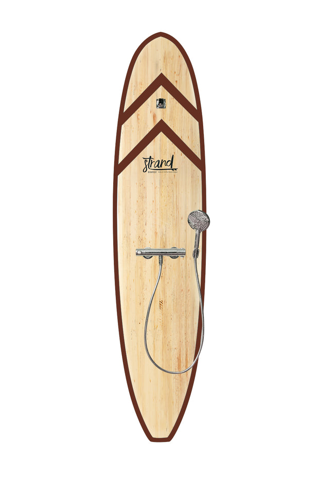 Strand Boards® | Strand Series | Fiji Surfboard Shower | Beach Component | Brown