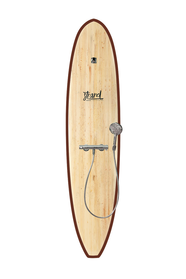 Strand Boards® | Strand Series | Kona Surfboard Shower | Beach Component | Brown