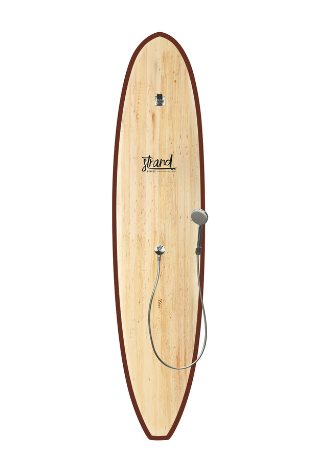 Strand Boards® | Strand Series | Kona Surfboard Shower | Sole Component | Brown