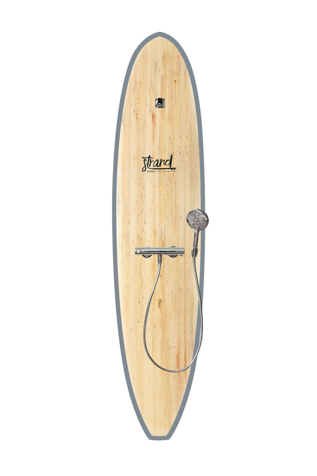 Strand Boards® | Strand Series | Kona Surfboard Shower | Beach Component | Grey