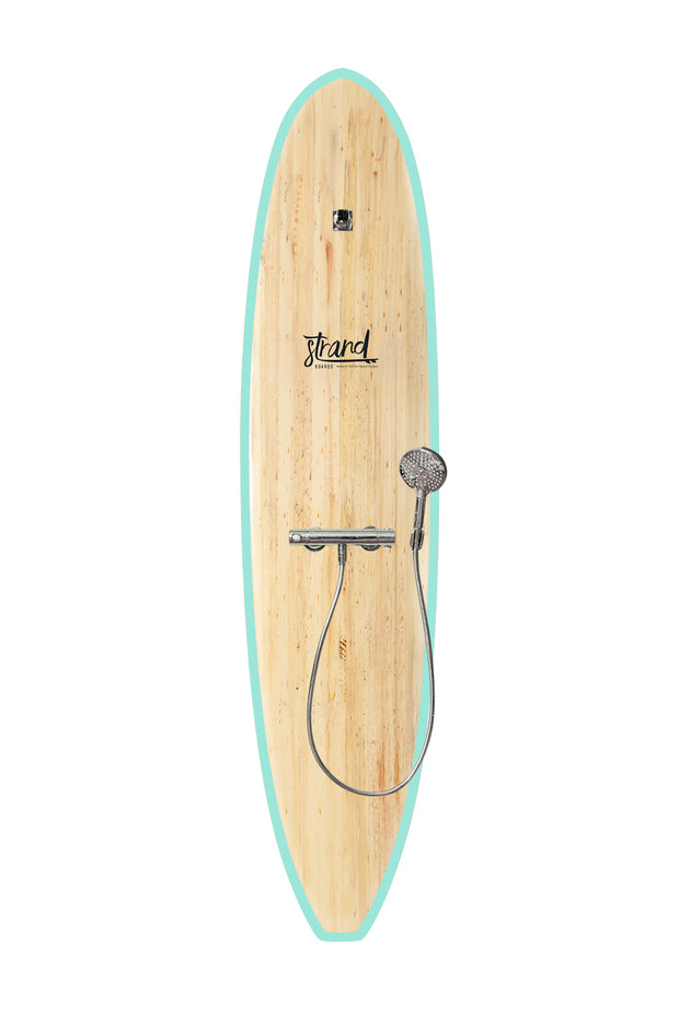 Strand Boards® | Strand Series | Kona Surfboard Shower | Beach Component | Seafoam