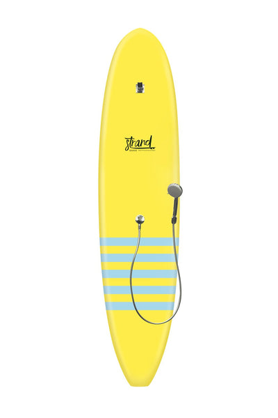 Strand Boards® | Strand Series | La Jolla Surfboard Shower | Sole Component | Yellow Blue