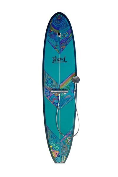 Limited Edition Art Surfboard Shower
