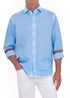 SKY CORAL WASHED LINEN SHIRT