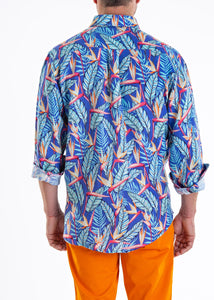 SUMMER LEAF LIMITED EDITION LINEN SHIRT