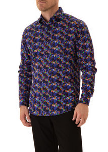 Flamingo-tango-mens-cotton-shirt